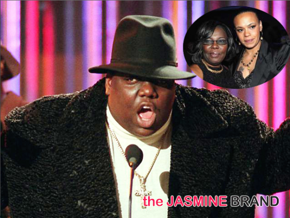 notorious big estate lawsuit-lee hutson-faith evans-voletta wallace-the jasmine brand