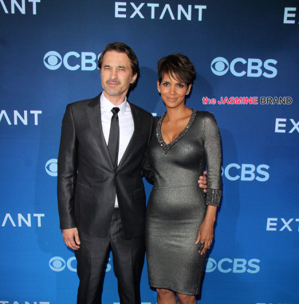 Halle Berry & Husband Olivier Martinez Attend 'Extant' Premiere + Chrissy Teigen Attends Fragrance Foundation Awards