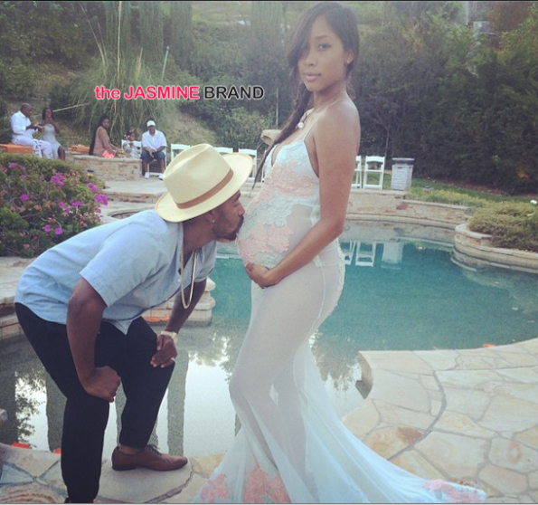 omarion and pregnant girlfriend apryl jones host baby shower i the jasmine brand