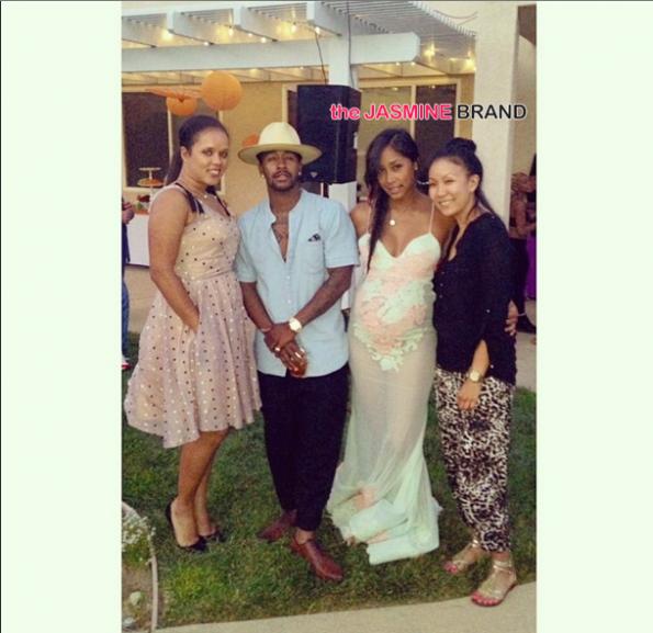 omarion and pregnant girlfriend apryl jones host baby shower the jasmine brand