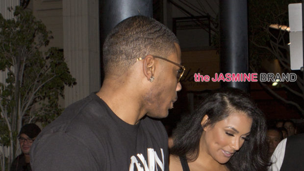 Still Going Strong! Rapper Nelly & Shantel Jackson Spotted On Beverly Hills Date Night