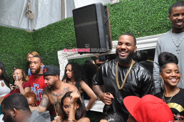 rapper the game visits dc rose bar 2014 the jasmine brand