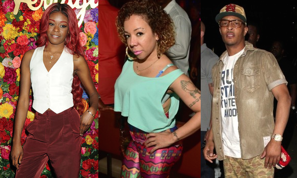 T.I. Threatens Rapper Azealia Banks Over Calling His Wife, Tiny Ugly