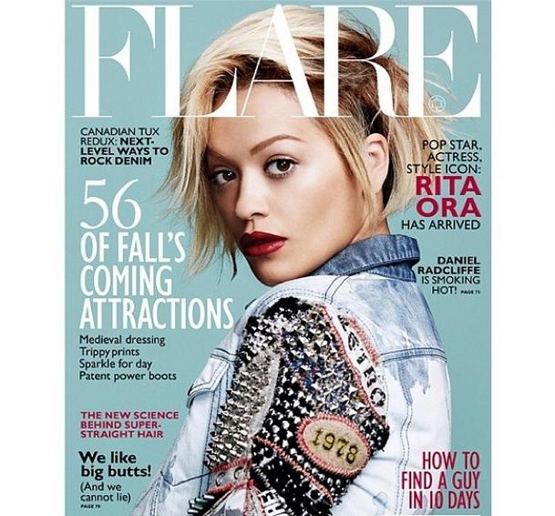 rita ora flare magazine the jasmine brand