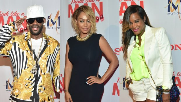 [Photos] R.Kelly, Tameka Raymond, Keke Wyatt Attend 'Think Like A Man Too' ATL Screening