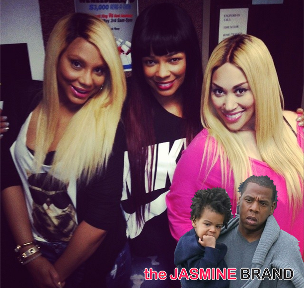 [VIDEO] Tamar Braxton & Syleena Johnson Address Blue Ivy's Hair + Beyhive Attacks Syleena For 'ODB' Comment
