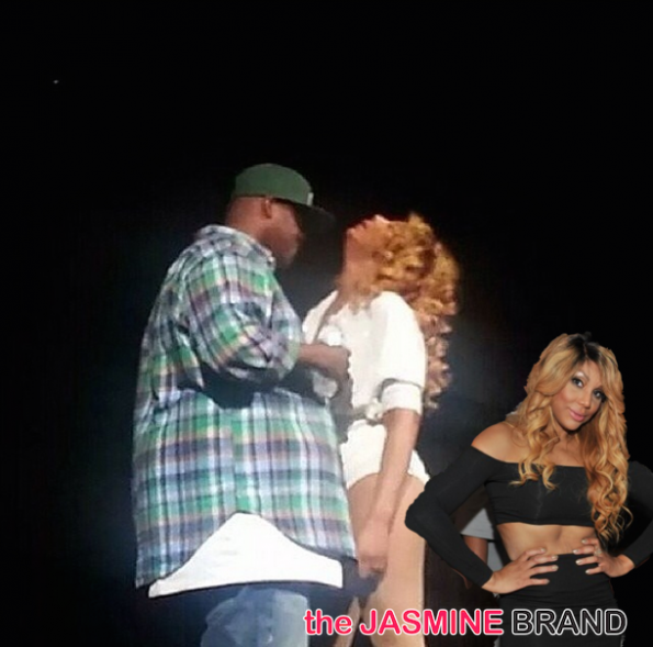 tamar braxton almost collapses on stage the jasmine brand