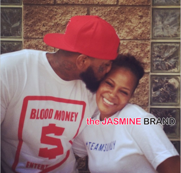[Photos] The Game & Basketball Wives LA's Sundy Carter Feed Skid Row