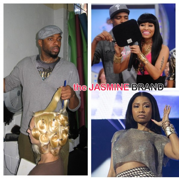[EXCLUSIVE] Claws Out! $30Mill Lawsuit Heats Up Between Nicki Minaj & Former Wig Designer Terrence Davidson