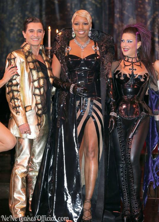 the jasmine brand NeNe Leakes-Zumanity-Cirque-De-Soleil-Las-Vegas-Dress-Rehearsal-Photos-3