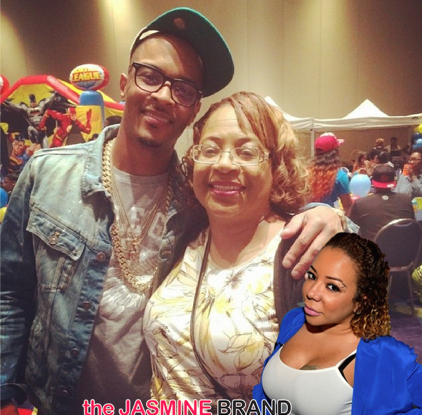 T.I.'s Mother Pleads With Tameka 'Tiny' Harris: Please Speak To Your Man!