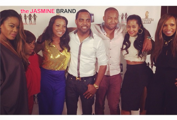 tv one wrap party for hollywood divas the jasmine brand