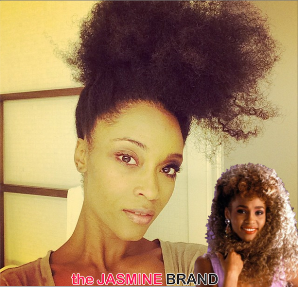 yaya dacosta-to play whitney houston in film 2014-the jasmine brand