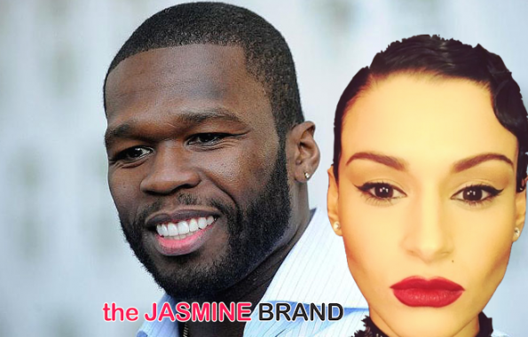 50 cent wants lawsuit from video vixen Sally Ferreira dismissed calls model a thirsty bitch the jasmine brand