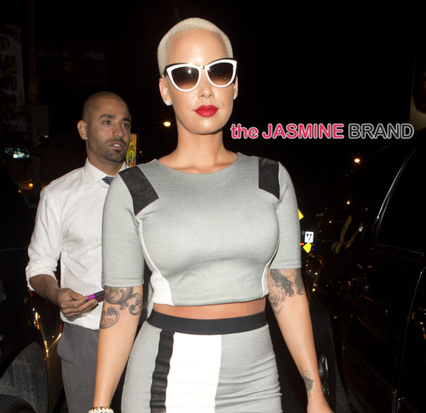 Celebrity Stalking: Amber Rose, Wendy Williams, Diana Ross, FLOTUS & JLo, Khloe Kardashian & Draya Michele