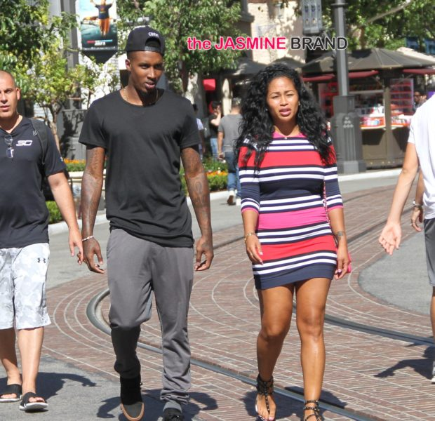 Will Smith Vacays in Ibiza, Tae Heckard & Brandon Jennings Hit The Grove + Ne-Yo Snacks & Smiles Video Vixen Girlfriend