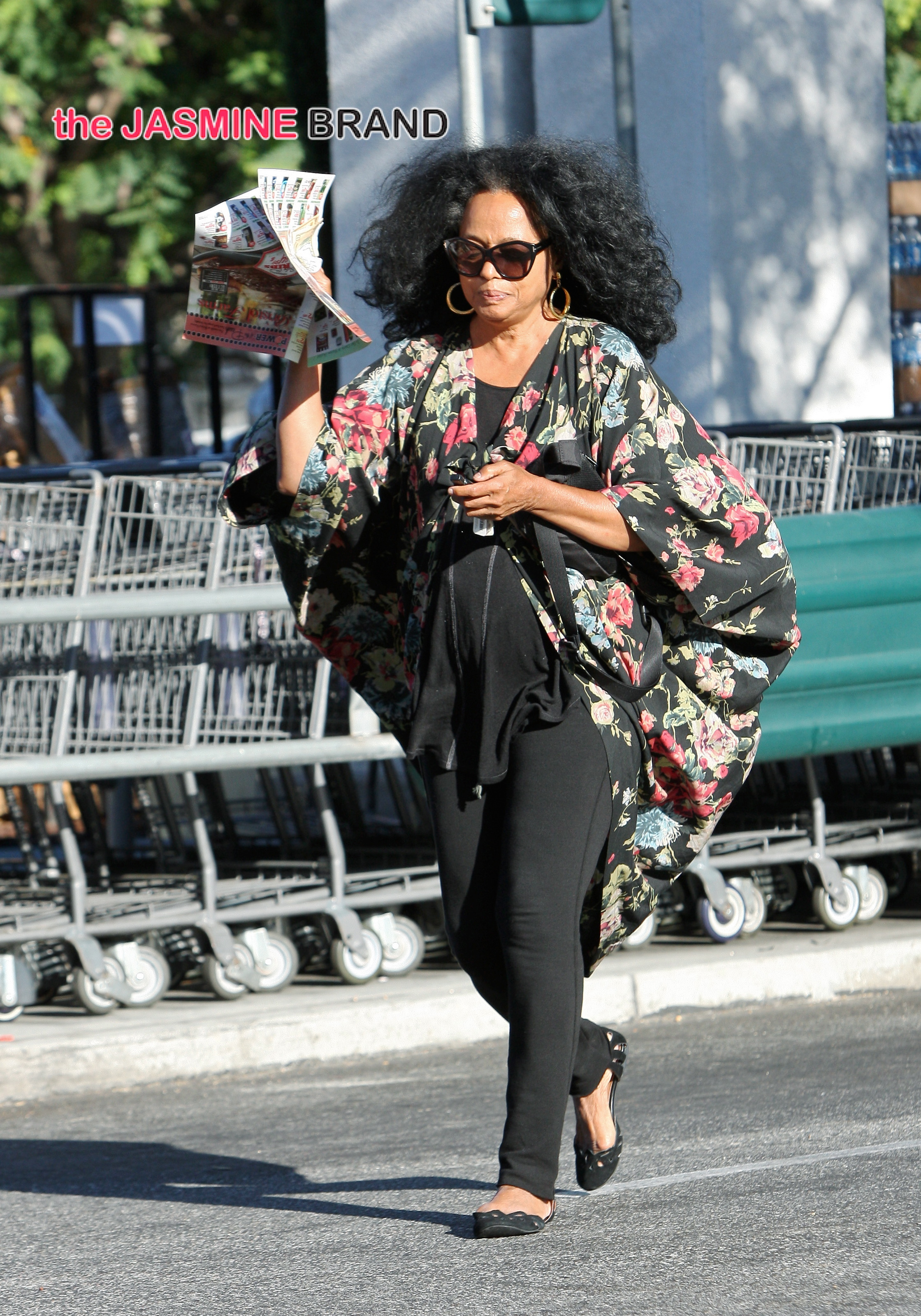 Diana Ross out for grocery shopping at Bristol Farms