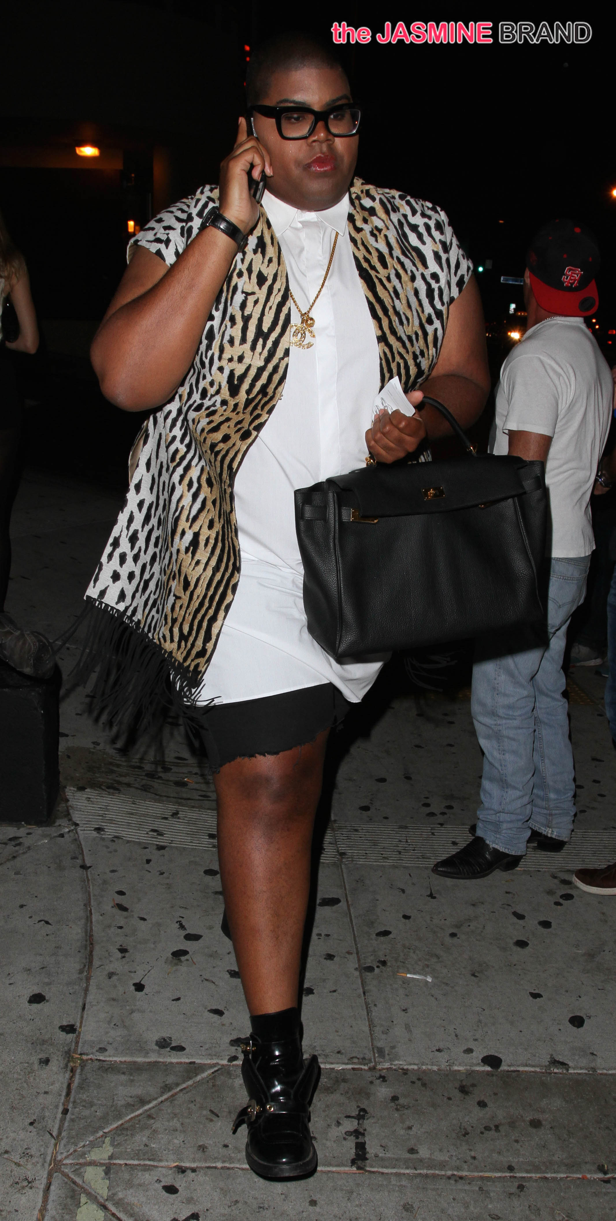 EJ Johnson leaving 1Oak in West Hollywood