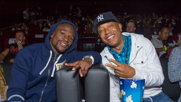 Floyd Mayweather, Sanaa Lathan, Boobie Gibson, Omar Epps & Meagan Good Attend 'All Def Comedy Live'