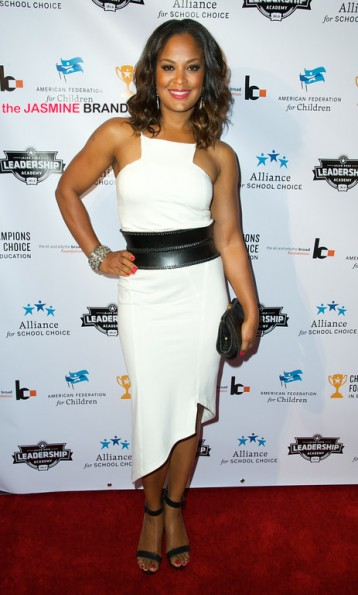 Laila Ali 3rd annual Champions for Choice American Federation for Children 2014 the jasmine brand