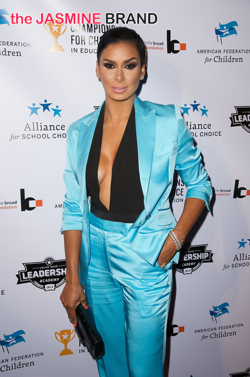 Laura Govan of Basketball Wives 3rd annual Champions for Choice American Federation for Children 2014 the jasmine brand