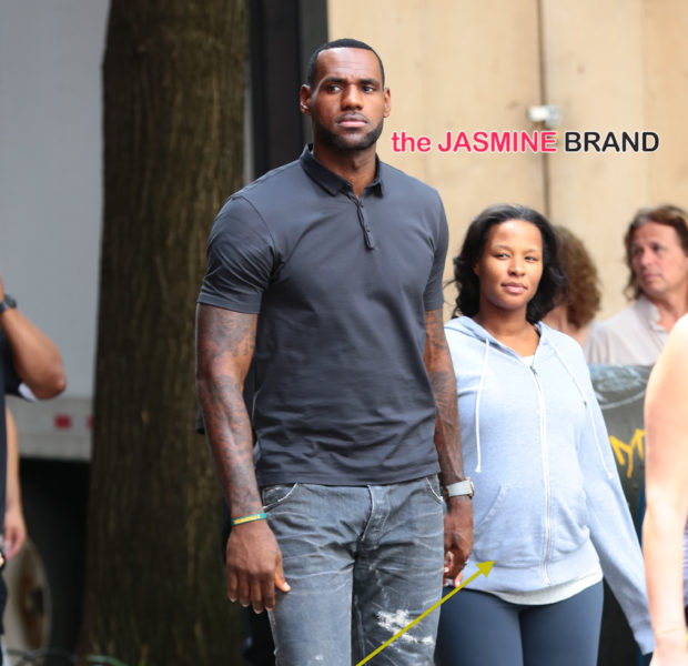 Cute & Comfy! LeBron James & Pregnant Wife Savannah Make Rare Public Appearance