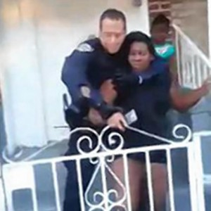 NYPD women in chokehold