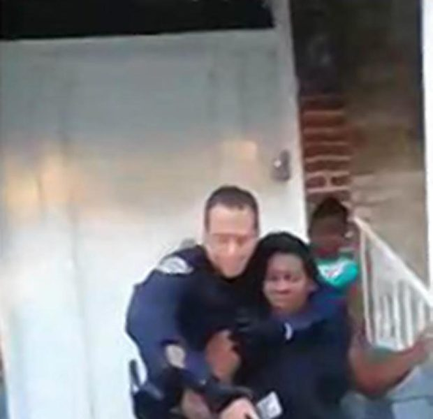 [VIDEO] Police Put Pregnant Woman in Illegal Chokehold