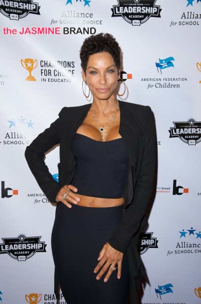Nicole Murphy 3rd annual Champions for Choice American Federation for Children 2014 the jasmine brand