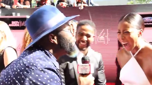 Omarion and Apryl