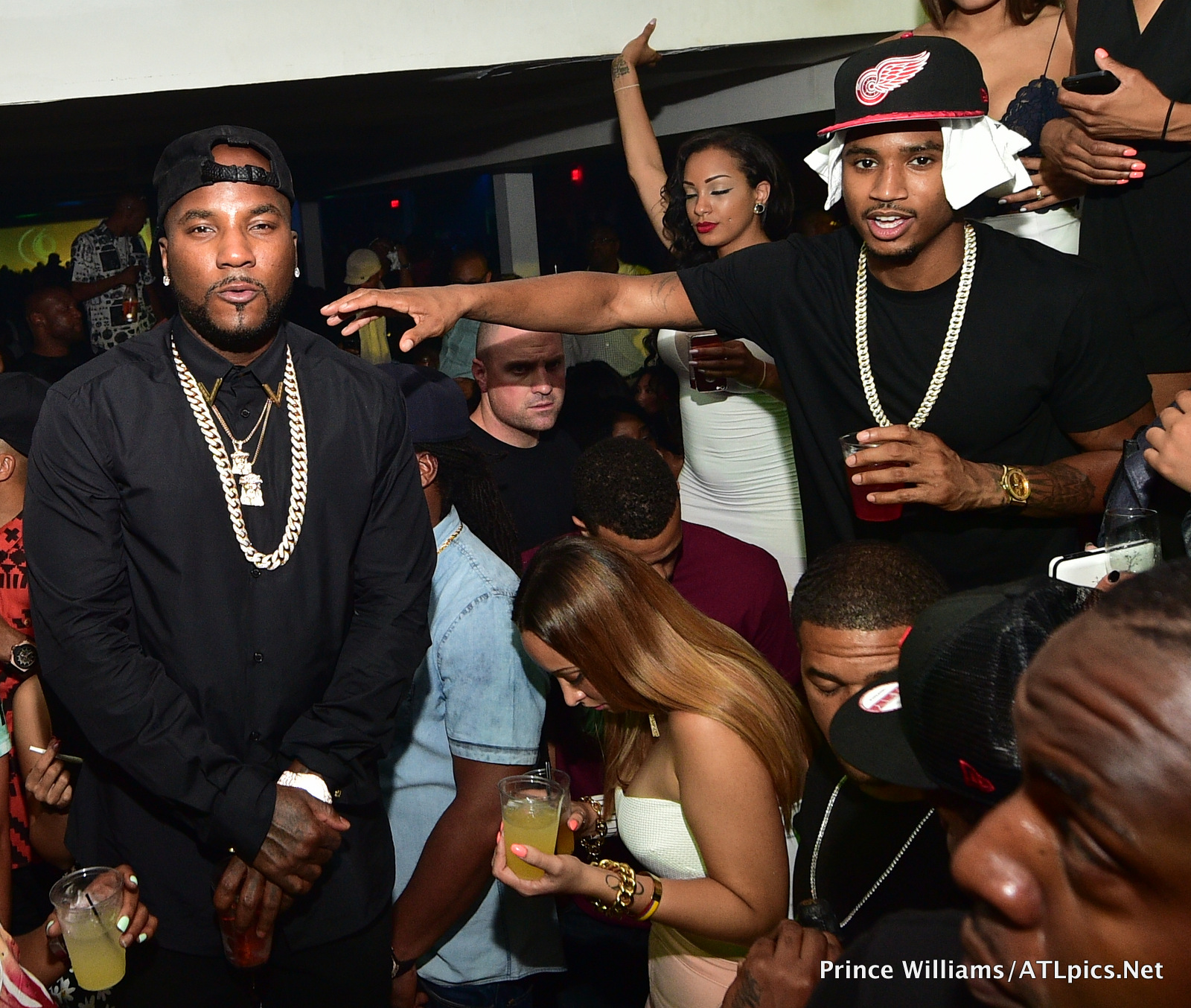 24f0af9b827 Trey Songz celebrated his album release party at Atlanta s Compound.  PAW 2223