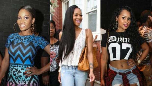 LHHA's Rasheeda Hosts Pop-Up Shop: Kandi Burruss, Mimi Faust, Benzino & Tammy Rivera Attend
