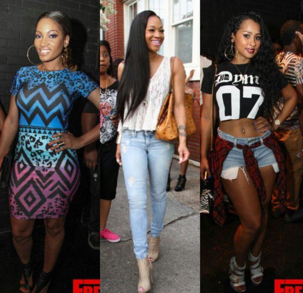 LHHA's Rasheeda Hosts Pop-Up Shop: Kandi Burruss, Mimi Faust, Benzino & Tammy Rivera Attend