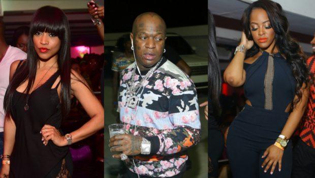 Trey Songz, Birdman, Monyetta Shaw & Malaysia Pargo Spotted Partying in Atlanta