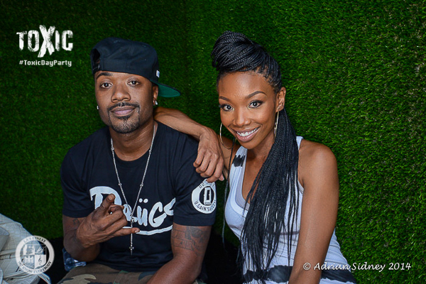 [Photos] Trey Songz, NeYo, Brandy & Ray J Spotted at LA 'Toxic' Day Party