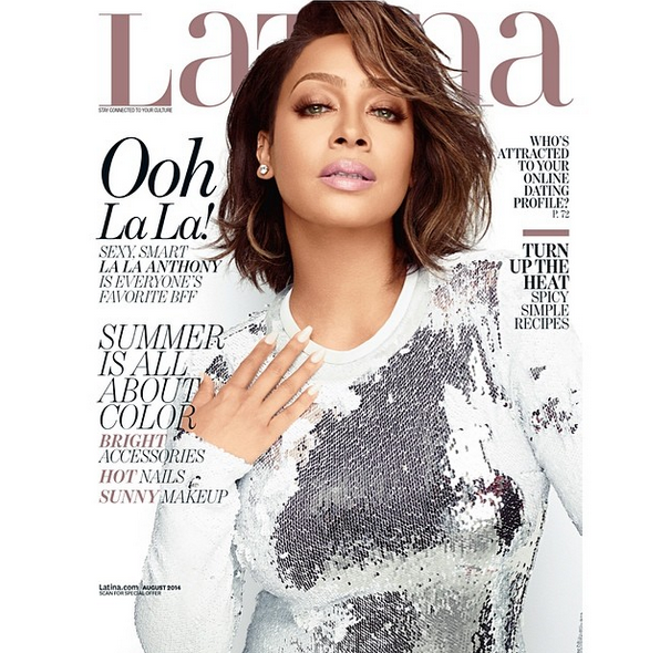 Lala Anthony Covers LATINA Magazine