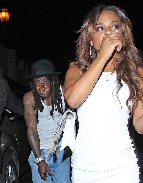 Who is lil wayne dating christina milian