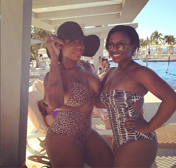 Girl's Trip! Fantasia Celebrates 30th Birthday In Cancun: Kandi Burruss, Phaedra Parks Spotted