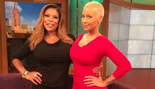 [VIDEO] Amber Rose Lands 'Selfie' Sitcom + Is She Happy She 'Escaped' Kanye West?
