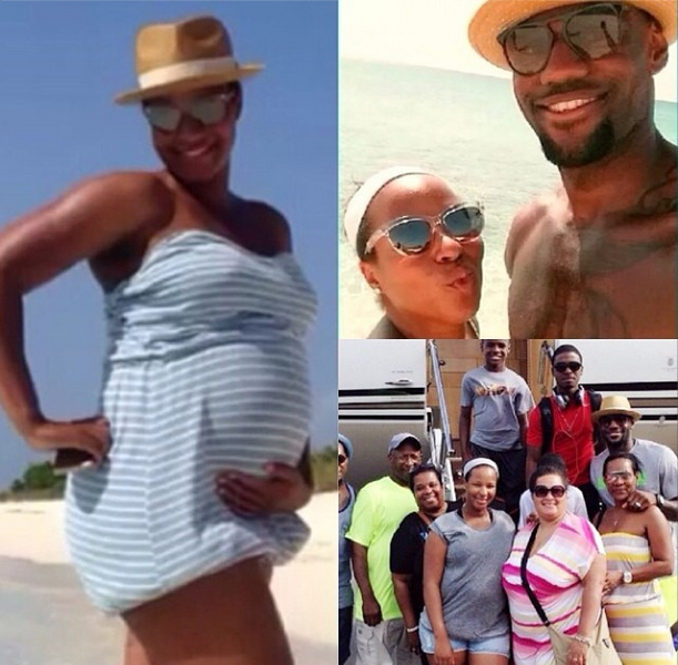 Ovary Hustlin': LeBron James Confirms Savannah's Pregnancy!