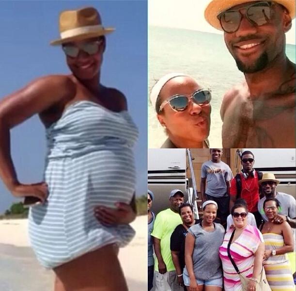 Ovary Hustlin': LeBron James Confirms Savannah's Pregnancy!