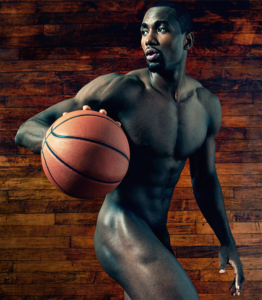 Serge Ibaka Goes Nude For ESPN's Body Issue: If I had it my way, I'd be in the gym all day.