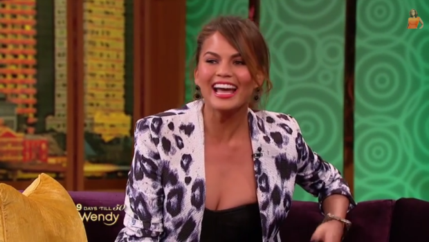 Chrissy Teigen Says Her & John Legend 'Hooked Up' On the First Night