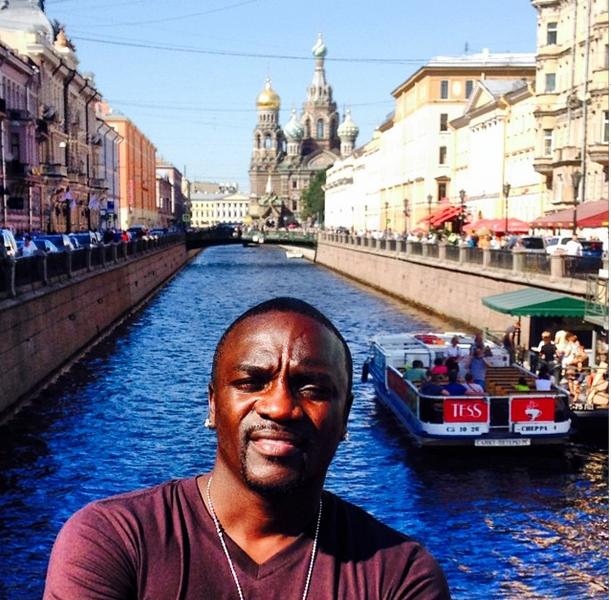 [EXCLUSIVE] Akon: Accused of Screwing Over Home Construction Workers, Slapped With Lien