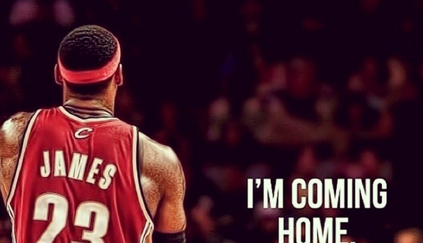 I'm Coming Home: LeBron James Returns to Cleveland, Fans & Celebs React