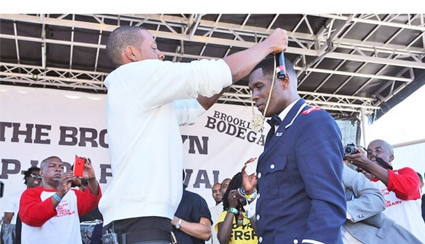 [VIDEO] Jay Z Pops-Up At 'Brooklyn Hip Hop Festival': It Feels Good to Be Home.