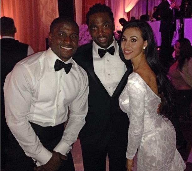 Just Married! Reggie Bush & Lilit Avagyan Wed In San Diego ... Reggie Bush Kim Kardashian Dancing