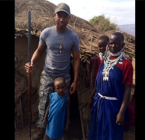 [Photos] E!'s Terrence J Takes Tanzania