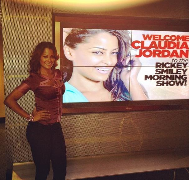 Claudia Jordan Talks Replacing Ebony Steele On Rickey Smiley: It's Awkward