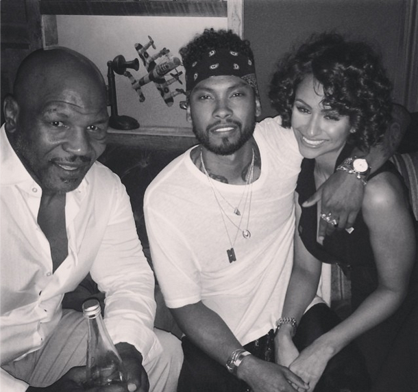 [Celebrity Stalking] Usher, Mary J. Blige, Mike Tyson & Miguel, Jazmine Sullivan + Tika Sumpter